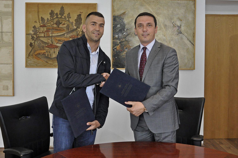 Karateisti Nishevci përkrahet nga MKRS-ja